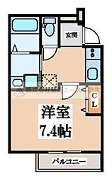 フジパレス堺梅北3番館[2階]の間取り