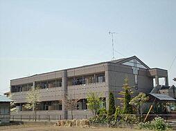 群馬県太田市富沢町の賃貸アパートの外観