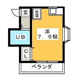 L Port さち II[2階]の間取り