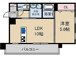 MIWA TERRACE別院[4階]の間取り