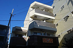 東京都府中市本町2丁目の賃貸マンションの外観