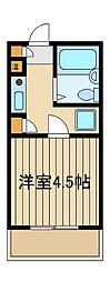 シャンブルケー[1階]の間取り
