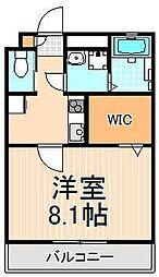 VIVANT FORET[2階]の間取り