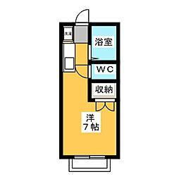 エステートピア神村 WEST[2階]の間取り