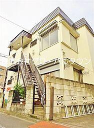 東京都足立区六月3丁目の賃貸アパートの外観