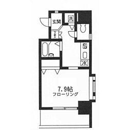 ツインバレー東神奈川[0305号室]の間取り