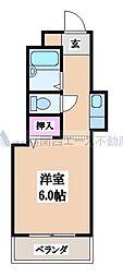 小阪本町ルグラン[4階]の間取り