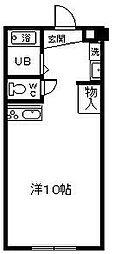 サンケイマンション第6ビル[310号室]の間取り