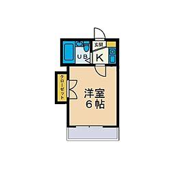 IFARO HONATSUGI[1階]の間取り