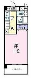 福岡県北九州市小倉北区熊本4丁目の賃貸アパートの間取り
