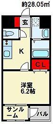 MDI エスポアール 桜ヶ丘[4階]の間取り