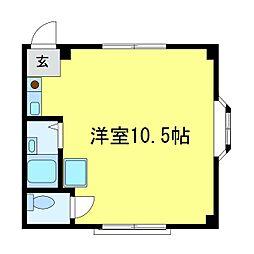 KSAマンション[305号室]の間取り