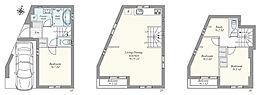 建物プラン例(1号地)建物価格 1580万円、建物面積 95.3?(車庫面積7.83?含)
