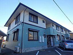 静岡県富士市青葉町の賃貸アパートの外観