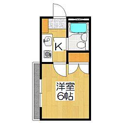 ストークマンション[303号室]の間取り