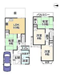 八幡市駅 1,380万円