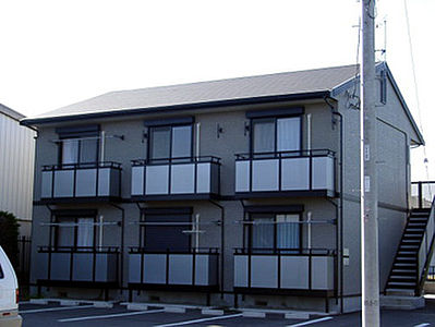外観,1K,面積26.5m2,賃料4.5万円,JR常磐線 赤塚駅 徒歩30分,,茨城県水戸市見和