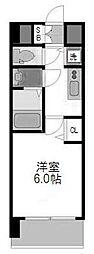 ララプレイス ザ・大阪リヴァージュ[1103号室]の間取り