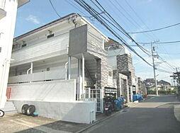 神奈川県横浜市神奈川区松見町3丁目の賃貸アパートの外観
