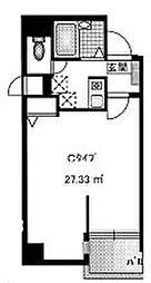 ラポール壱番堂[4階]の間取り