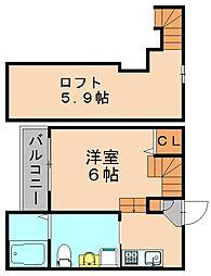 オークフォレスト[1階]の間取り