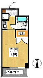 オセアン新沢ビル[4階]の間取り
