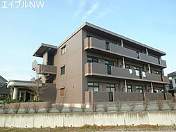 三重県松阪市中央町の賃貸マンションの外観