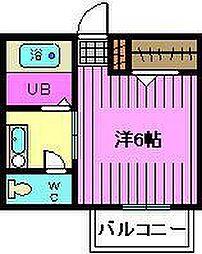 アライブ浦和[2階]の間取り