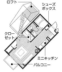 カリヨ 中万呂[206号室]の外観