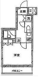 ルーブル小竹向原弐番館[202号室]の間取り