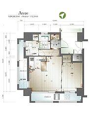 サヴォイバンヤンツリー[2階]の間取り