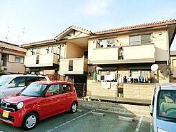 兵庫県伊丹市安堂寺町4丁目の賃貸アパートの外観