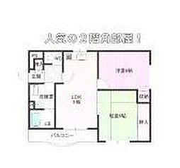 武蔵野マンション[203号室]の間取り