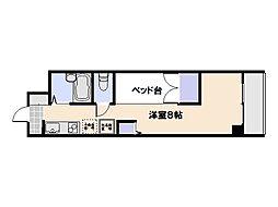 カーサ・コッリーナ[2階]の間取り