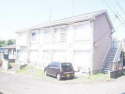 神奈川県川崎市多摩区栗谷2丁目の賃貸アパートの外観