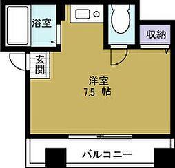 ハイツ大江[2階]の間取り