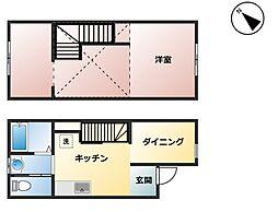 東中津駅 4.0万円