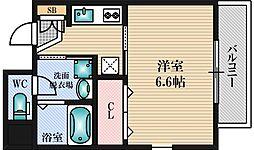 プレミアムステージ新大阪駅前[11階]の間取り