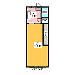 ALCO犬山[3階]の間取り