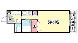 DOMみなと元町[302号室]の間取り