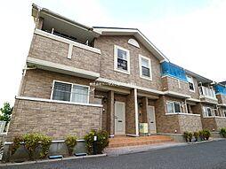福岡県遠賀郡岡垣町大字三吉の賃貸アパートの外観