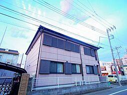 埼玉県狭山市新狭山2丁目の賃貸アパートの外観