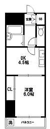 ローズコーポ新大阪7[10階]の間取り