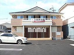 静岡県焼津市柳新屋の賃貸アパートの外観