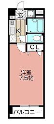 エリアント赤坂[403号室]の間取り