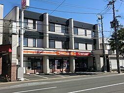 北海道札幌市白石区南郷通8丁目南の賃貸マンションの外観