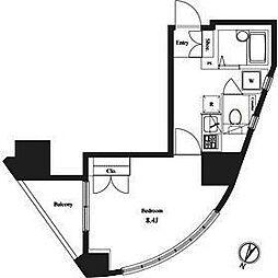 ヴェルト笹塚ツイン1[9階]の間取り