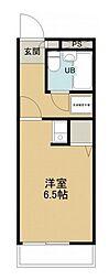 所沢メゾン3号館[1階]の間取り