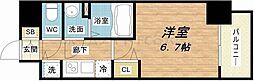 セオリー大阪城サウスゲート[7階]の間取り