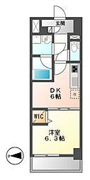 MEIBOU TESERA(メイボーテセラ)[9階]の間取り